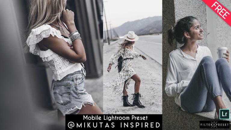 Download Free Mikutas Inspired Mobile Lightroom Presets of 2020