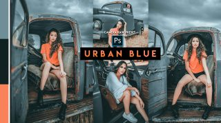Download Free Urban Blue Camera Raw Presets of 2020 | Urban Blue Photoshop Preset of 2020 | How to Edit Like Urban Blue