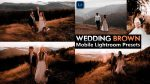 Download Free Wedding Brown Mobile Lightroom DNG Presets of 2020 | How to Edit Wedding Brown Effect to Wedding Photos