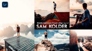 Download Free Sam Kolder Inspired Mobile Lightroom DNG Presets of 2020 | How to Edit Like Sam Kolder