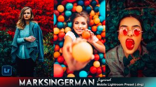 Download Free Marksingerman Inspired Mobile Lightroom DNG Presets of 2020 | How to Edit Like Marksingerman