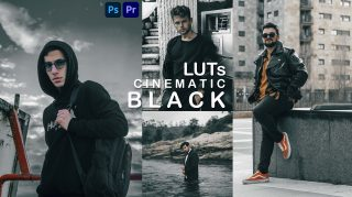 Download Free CINEMATIC BLACK LUTs of 2021 | How to Make Cinematic Black Color Tone to Videos in Premiere Pro