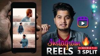 How to Create Instagram REELS in 3 Split Cinematic Videos in 5 Minutes in 2021 | 3 Layout REELS for Instagram 2021 Tutorial