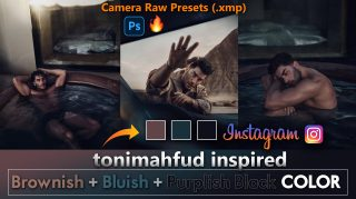 Download Free Toni Mahfud Inspired Camera Raw Presets of 2021 | Toni Mahfud Inspired Photoshop Preset of 2020 | How to Edit Like Toni Mahfud