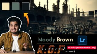 Download Free KGF2 Movie Inspired Mobile Lightroom DNG Presets of 2021 | How to Edit Like Moody Tone of KGF2 Movie Inspired Color Effect
