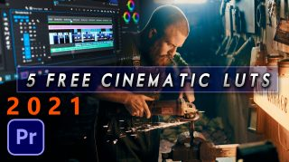 5 FREE CINEMATIC LUTS YOU MUST HAVE FOR PREMIERE PRO | How to Apply LUTs to Videos in Premiere Pro