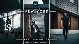 Alen Palander NEW YORK Desktop Lightroom Presets of 2021 | How to Edit Like Alen Palander NEW YORK Color