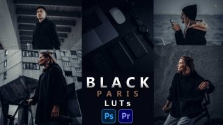 BLACK PARIS LUTs of 2021 for Free