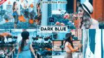 DARK Blue Camera Raw Presets of 2021 for Free | XMP Preset