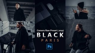 BLACK PARIS Camera Raw Presets of 2021 for Free