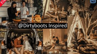 Dirtyboots Inspired Camera Raw Presets of 2021 for Free | XMP Preset