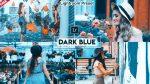 DARK Blue Desktop Lightroom Presets of 2021 for Free