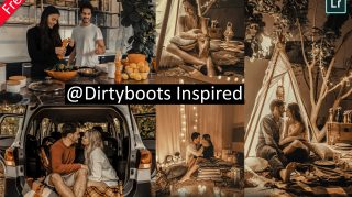 Dirtyboots Inspired Mobile Lightroom Presets of 2021 for Free | DNG Presets