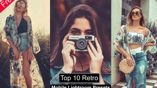 Top 10 Retro Mobile Lightroom Presets of 2021 for Free | DNG Presets