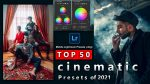 Top 50 Cinematic Mobile Lightroom DNG Presets of 2021 for Free