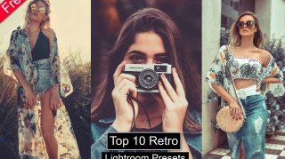 Top 10 Retro Desktop Lightroom Presets of 2021 for Free