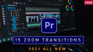 15 FREE ZOOM TRANSITIONS OF 2021 for PREMIERE PRO (Free Download)