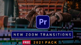 NEW ZOOM TRANSITIONS OF 2021 for PREMIERE PRO (Free Download) | Best Zoom Transitions of 2021