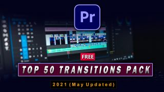 Top 50 Transitions for Premiere Pro // Free Zip File // Top 50 Best Transitions Pack of 2021 for Premiere Pro / 50+ FREE Transitions for Premiere Pro
